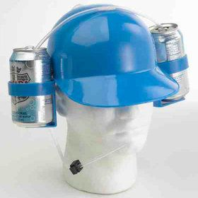Blue Drinking Helmet