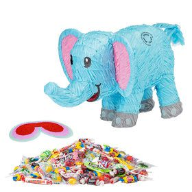 Blue Elephant Pinata Kit