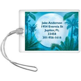 Blue Planet Personalized Luggage Tag (each)