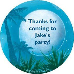 Blue Planet Personalized Stickers (sheet of 12)