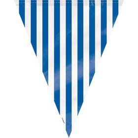 Blue Stripe 12' Flag Banner Decoration (Each)