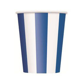 Blue Stripe 12oz Cups (6 Pack)