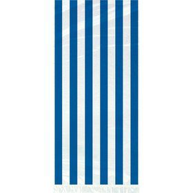 Blue Stripe Cello Favor Bags (20 Pack)