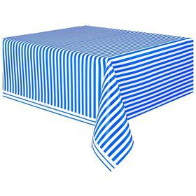 Blue Stripe Table Cover (Each)