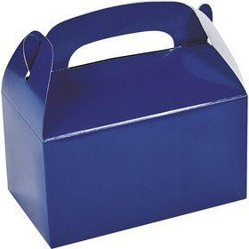 Blue Treat Favor Boxes (6 Pack)