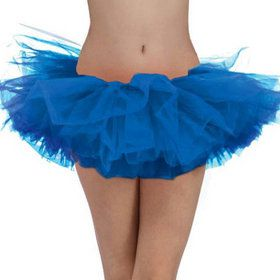 Blue Tulle Adult Tutu