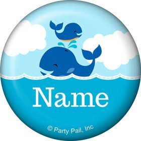 Blue Whale Personalized Mini Magnet (Each)