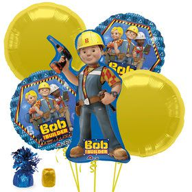 Bob The Builder Balloon Bouquet Kit