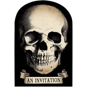Boneyard Invitations (20 Count)