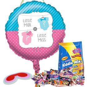 Bow or Bowtie Baby Shower Pull String Economy Pinata Kit
