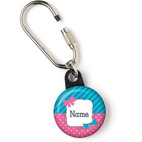 "Bow or Bowtie? Personalized 1"" Carabiner (Each)"