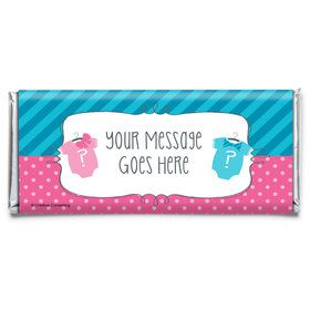 Bow or Bowtie? Personalized Candy Bar Wrapper (Each)