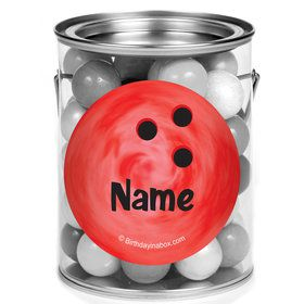 Bowling Personalized Mini Paint Cans (12 Count)