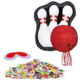 Bowling Pin Pinata Kit