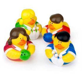 Bowling Rubber Duckies (12 Count)
