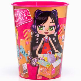 Boxy Girl 16oz. Plastic Favor Cup (1)