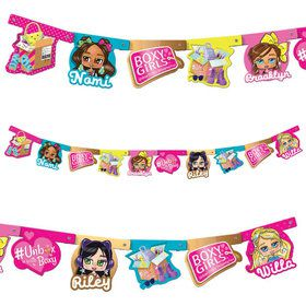 Boxy Girl Jointed Banner