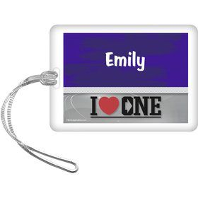 Boy Band Personalized Bag Tag (Each)