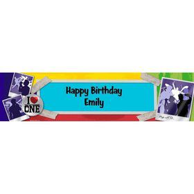 Boy Band Personalized Banner (Each)