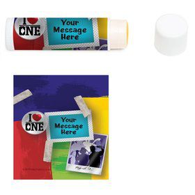 Boy Band Personalized Lip Balm (12 Pack)