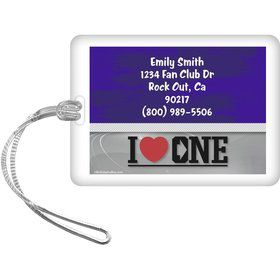 Boy Band Personalized Luggage Tag (Each)
