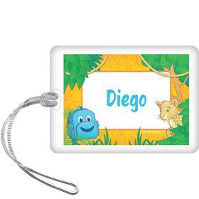 Boy Explorer Personalized Bag Tag (each)