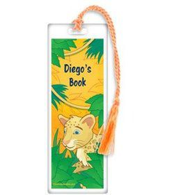 Boy Explorer Personalized Bookmark (each)