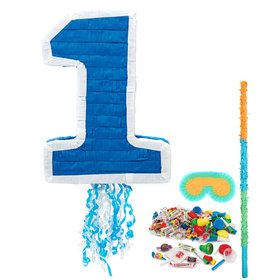Boy's 1st Birthday Pinata Kit