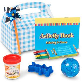 Boy's Little Favor Box (4-Pack)