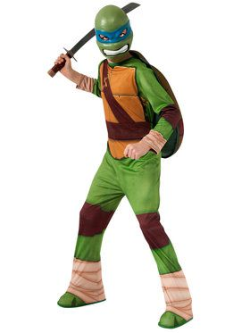 Boy's Teenage Mutant Ninja Turtles Leonardo Costume