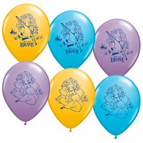 "Brave 12"" Latex Balloons (6 Pack)"