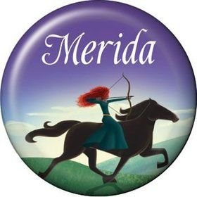 Brave Princess Personalized Mini Magnet (each)
