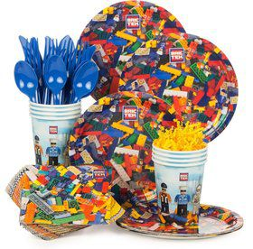Bric Tek Birthday Party Standard Tableware Kit Serves 8