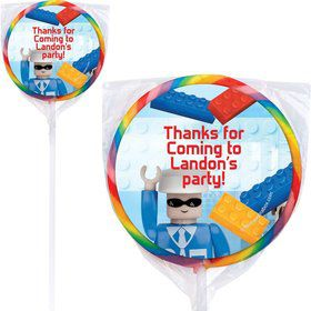 Bric Tek Personalized Lollipops (12 Pack)