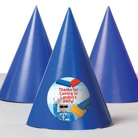 Bric Tek Personalized Party Hats (8 Count)