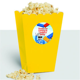 Bric Tek Personalized Popcorn Treat Boxes (10 Count)