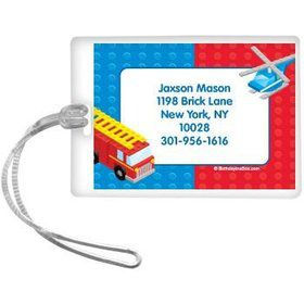 Brick City Personalized Luggage Tag (each)