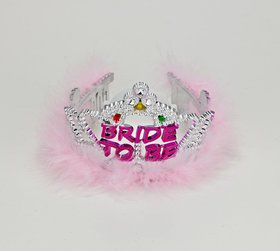 Bride to Be Flashing Tiara (Each)