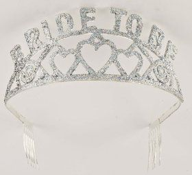 Bride to Be Glitter Tiara (Each)