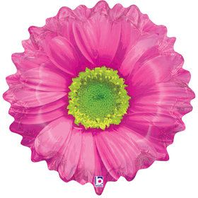 """Bright Blooms 24"""" Pink Balloon (Each)"""
