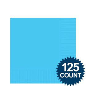 Bright Blue Beverage Napkins (125 Pack)