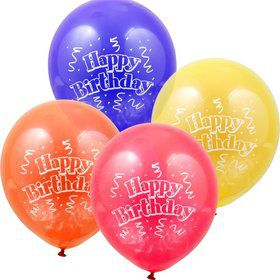 "Brilliant Balloons 12"" Latex Balloons (8 Pack)"