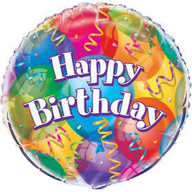 "Brilliant Balloons 18"" Foil Balloon (Each)"