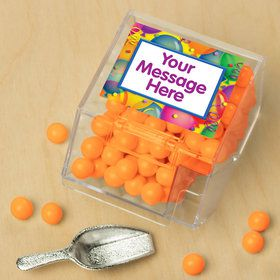 Brilliant Balloons Personalized Candy Bin with Candy Scoop (10 Count)