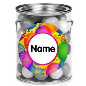 Brilliant Balloons Personalized Mini Paint Cans (12 Count)