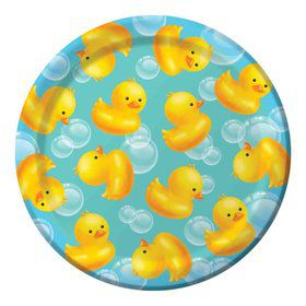"Bubble Bath 7"" Cake Plate (8 Count)"