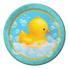 "Bubble Bath 9"" Lunch Plate (8 Count)"