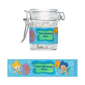 Bubble Friends Personalized Glass Apothecary Jars (10 Count)