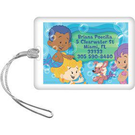 Bubble Friends Personalized Luggage Tag (Each)