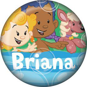 Bubble Friends Personalized Mini Button (Each)